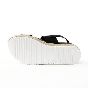 353a609f9ce Soda Shoes - kazoo black sling back sandal flatform